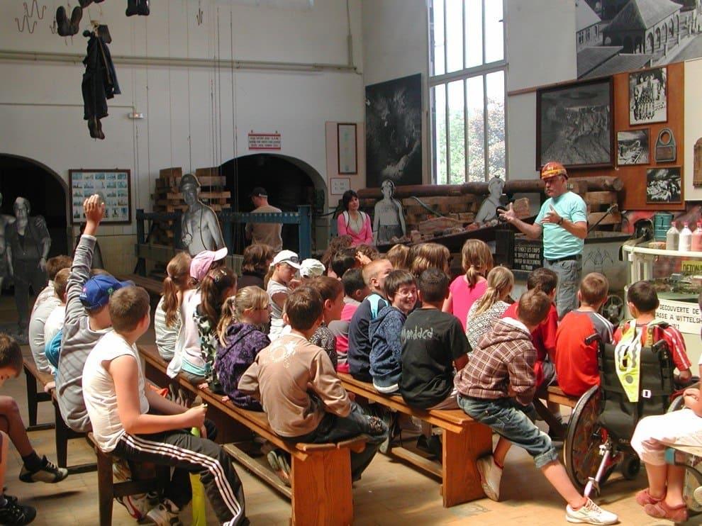 Visites scolaires guidées par un ancien mineur - Musée de la Mine et de la Potasse